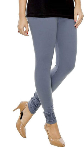 Grey cotton Lycra Leggings