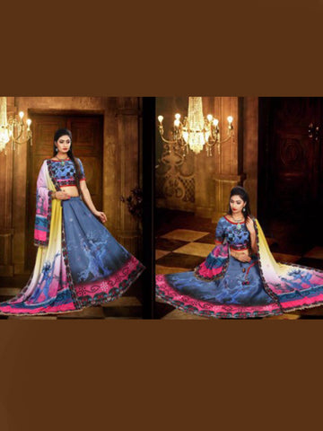 Navratri Special Multi Color Lehenga Choli