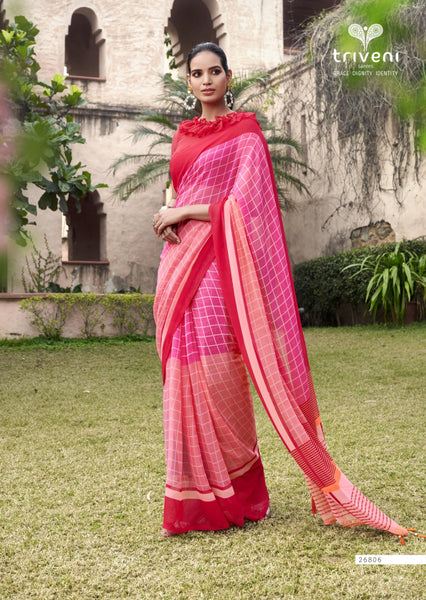 Designer and Beautiful Georgette Saree