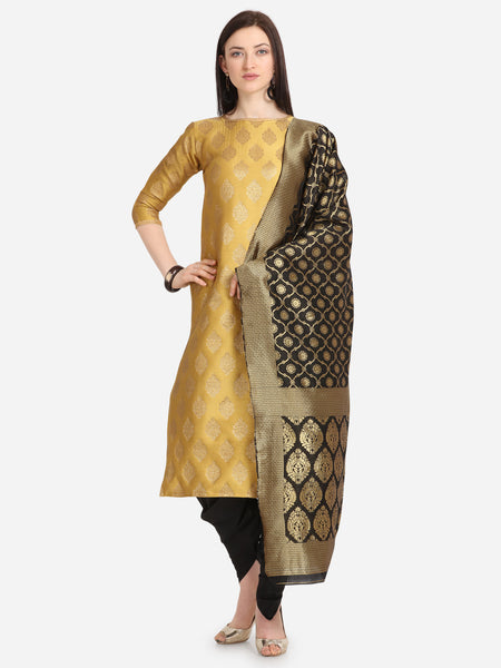 Beige Weaving Jacquard Straight Cut Suit
