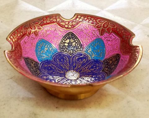 Decorative Colorful Bowl For Mukhwas
