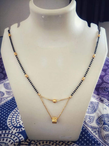 Beautiful Gold Plated Mangalsutra