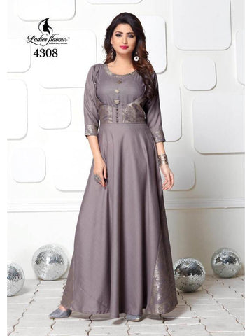Beautiful and Designer Anarkali Kurti & Gown