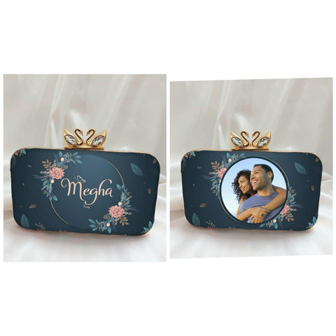 Personalized Digital Printed Clutches