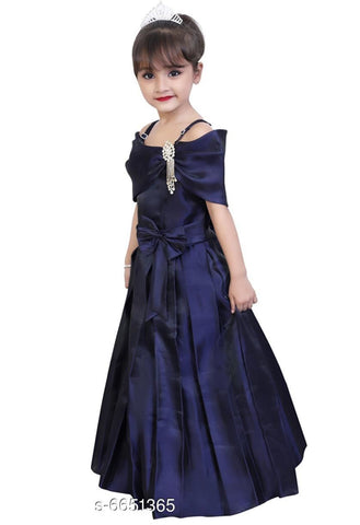 Beautiful Blackberry Girls Dress
