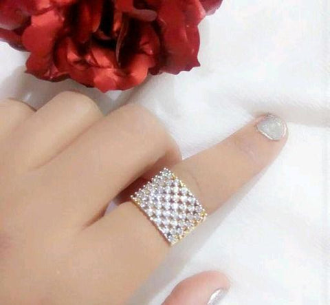 Fancy Alloy Women's Finger Rings