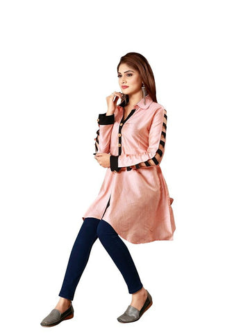 Designer and Beautiful Baby Pink Color Top