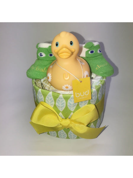 DAISEY Duck Diaper Set in Yellow Color