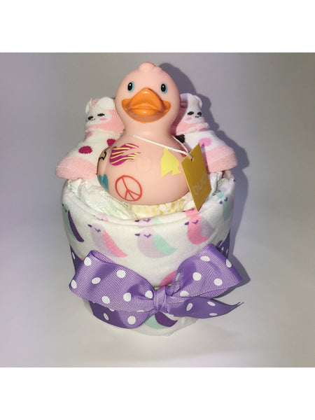 PEACE Duck Diaper Set