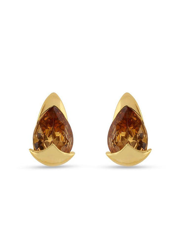 Designer Brown Color Earrings for Casual Wear
