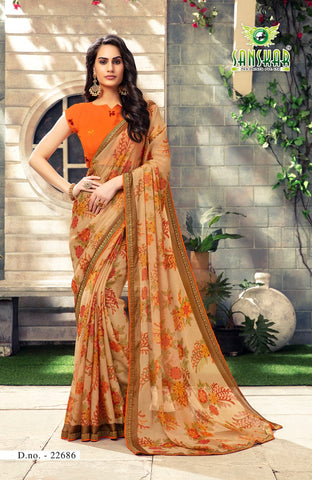 Designer and Beautiful Saree