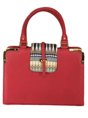 Red Designer Bag - PurpleTulsi.com