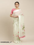 Designer and Beautiful Cotton Linen Saree