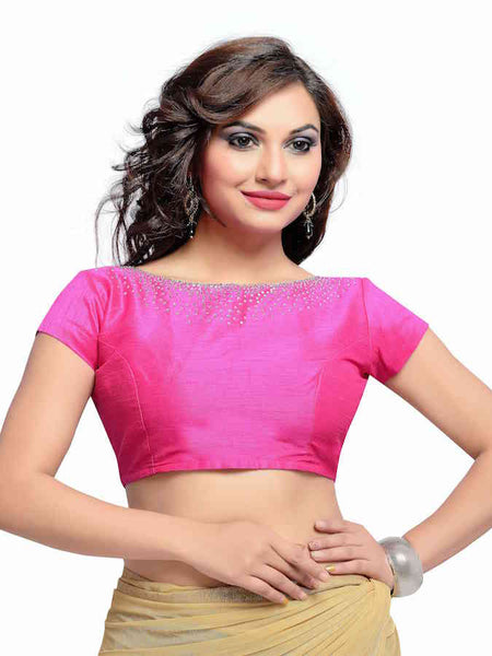 Pink Fashion Blouse - PurpleTulsi.com  - 1
