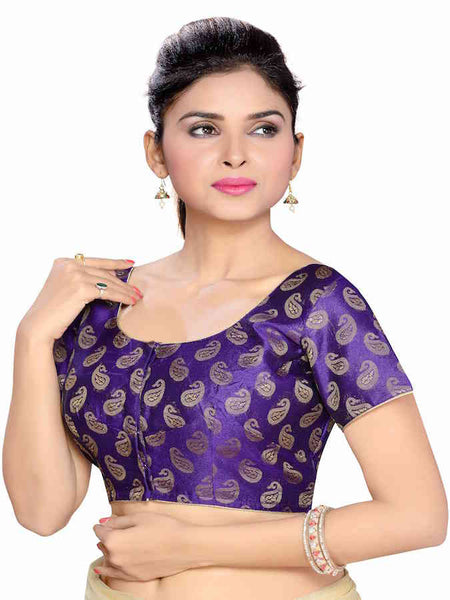 Purple Fashion Blouse - PurpleTulsi.com  - 1