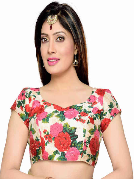 Multicolor Fashion Blouse - PurpleTulsi.com  - 1