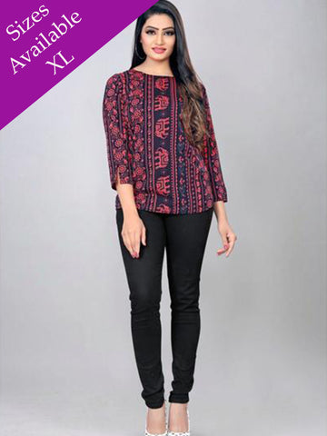 Designer and Beautiful Western Wear Top