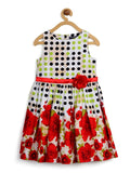 Multicolour Kids Frock (4-6Yrs) - PurpleTulsi.com