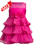 Cute Pink Kids Dress (4-6Yrs)