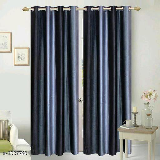Polyester Stitched Window Curtains