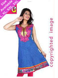 Designer and Beautiful Cotton Straight Cut Kurti