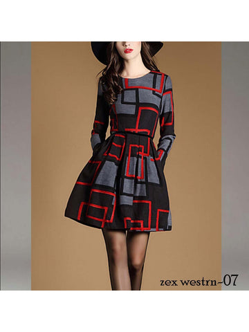 Designer and Beautiful Western Dress