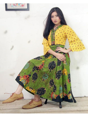 Designer and Beautiful Western Look Anarkali Kurti