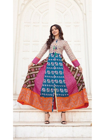 Designer and Beautiful Anarkali Kurti