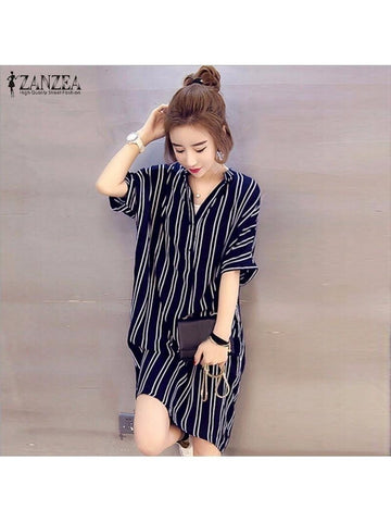 Mini Dress Striped