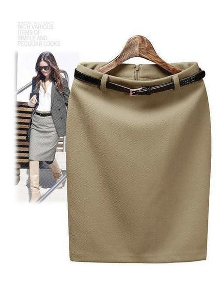 Pencil Skirt Women's Formal wear