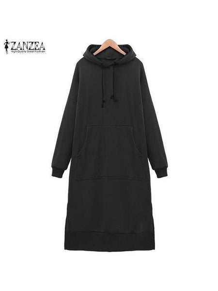 Casual Loose Long Hoodies Sweatshirt