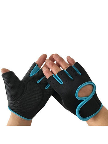 Cycling Gloves Half Finger Glove Sports  Breathable Bike Bicycle Half Finger Gloves
