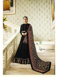 Designer Black Color Heavy Embroidered Work Anarkali Suit