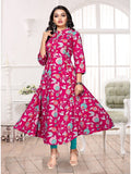 Designer and Beautiful Pink Color Kurti