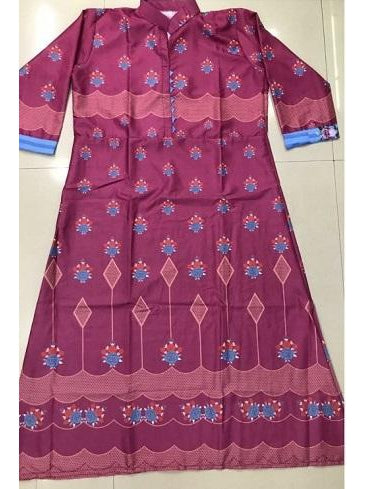 Designer and Beautiful Rani Color Anarkali Kurti