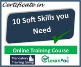 10 Soft Skills You Need - Online Training Course & Certification - The Mandatory Training Group UK -