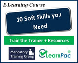 10 Soft Skills You Need - Online Train the Trainer Resources & Trainer Materials - The Mandatory Training Group UK -