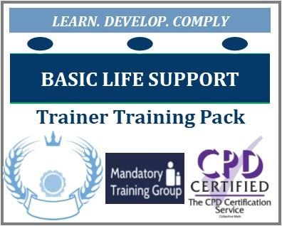 Adult Basic Life Support Trainer Pack - BLS Course Materials & Trainer Resources - Trainer Pack for BLS Trainers PowerPoint & Certificate Templates - The Mandatory Training Group UK -