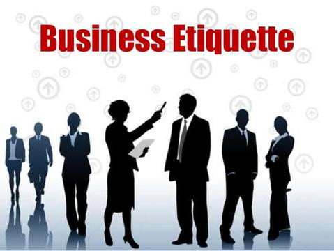 Business Etiquette - Online Training Course - Certificate in Business Etiquette - Business Etiquette You Need To Know - The Octrac Consulting -