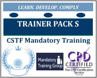 CSTF Aligned Mandatory Training - e-Trainer Pack for Healthcare Trainers - 16 Core Modules for Healthcare Providers - The Mandatory Training Group UK -