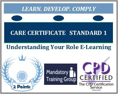Care Certificate Standard 1 - FREE Online Care Certificate Training Courses – FREE Understanding Your Role Online Training Course - The Mandatory Training Group UK -