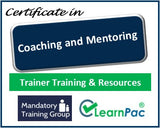 Coaching and Mentoring - Online Train the Trainer Course & Trainer Materials - The Mandatory Training Group UK -