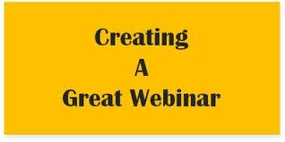 Creating a Great Webinar - Online Training Course - Certificate in Creating a Great Webinar - Short E-Learning Course - The Mandatory Training Group -
