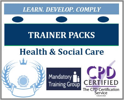 E-Trainer Packs for Health and Social Care Trainers - Trainer Training Resources - Train the Trainer Courses & Trainer e-Packs - The Mandatory Training Group -