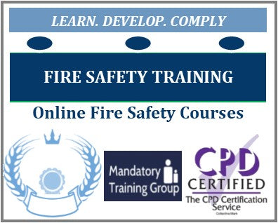 Fire Safety Courses - Online Fire Safety Awareness Training Courses - Fire Safety Training - The Mandatory Training Group UK -