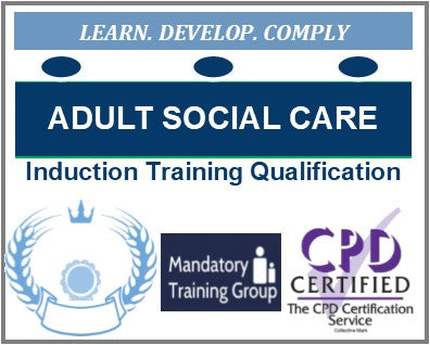 Free Health & Social Care NVQ Qualifications - Qualified Health & Social Care Induction Training Package - Free Care Courses - The Mandatory Training Group UK -