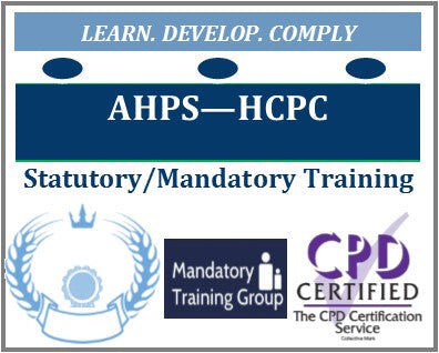 HCPC Standards of education and training guidance - Allied Health Professionals HCPC Mandatory Training Courses - The Mandatory Training Group UK -