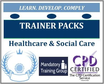 Healthcare Trainer Packs - People Moving & Handling Trainer Pack - Manual Handling Trainers - The Mandatory Training Group UK -