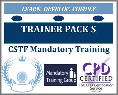 Healthcare Trainer Packs - Skills for Health CSTF Aligned e-Trainer Packs + Training Materials for Healthcare Providers - The Mandatory Training Group UK -