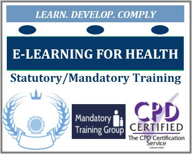 List of mandatory training courses for health and social care - list of e-learning courses for health & care workers - free mandatory training online - The Mandatory Training Group UK -